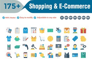 Shopping & E-Commerce Circle Shadow