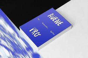 Avene PRO Brush Font