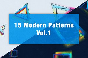15 Modern Patterns Vol.1