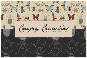 Creepy Crawlies Pattern Set