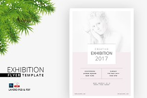 Exhibition Flyer (Print Ready)