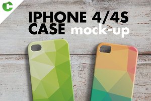IPHONE 4/4S CASE MOCK-UP 3d printing