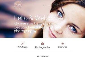 Carina- Personal WordPress Portfolio