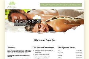 Lotus - Responsive WP Spa & Wellness