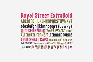 Royal Street ExtraBold