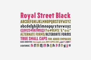 Royal Street Black