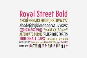 Royal Street Bold