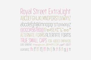 Royal Street Extra Light