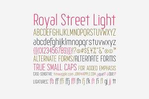 Royal Street Light