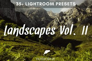 Landscape Lightroom Presets Vol. II