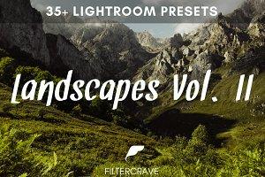 Landscape Lightroom Presets Vol. II