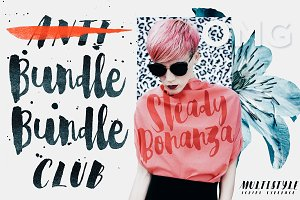 Steady Bonanza Multistyle Fonts