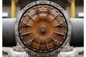 Industrial texture as a background