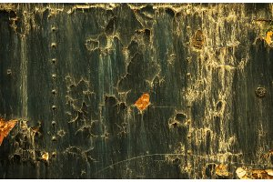 Rusted metal texture closeup photo
