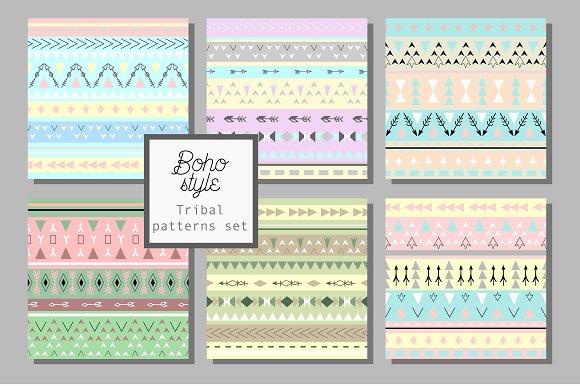12 boho style patterns