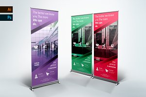 Business Roll Up Banner - nex
