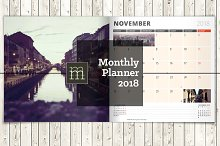 Monthly Planner 2018 (MP017-18)