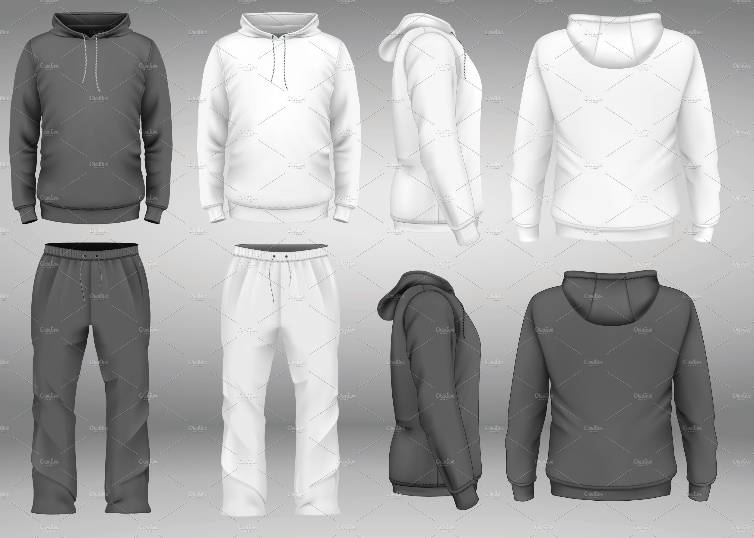 Vector hoodie Photos, Graphics, Fonts, Themes, Templates ~ Creative ...