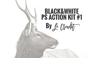 BLACK&WHITE PS ACTIONKIT #1