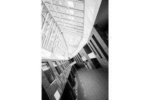 Modern interior of a university