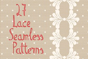 27 Lace Seamless Patterns