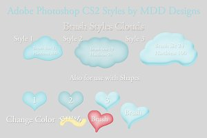 Adobe Photoshop CS2 Styles