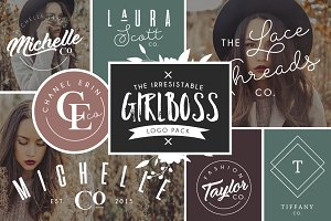 Girlboss Logo Bundle Vol. 2 - SALE
