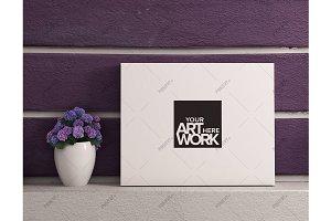 Canvas Mockup Lavender - Landscape