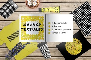 IDEAL grungy textured backgrounds