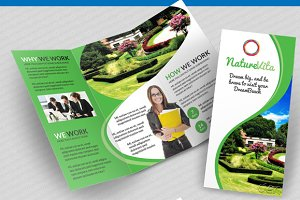 Multifunctional 3-fold Brochures