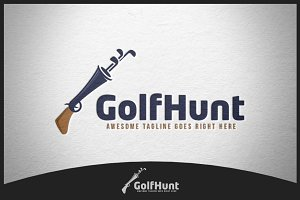 Golf Hunt Logo