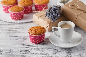coffee muffins gift
