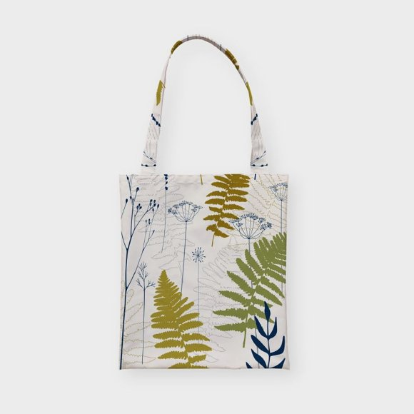 Fern leaves, lavender and dill  in Patterns - product preview 7