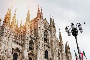 Beautiful Milano Duomo View