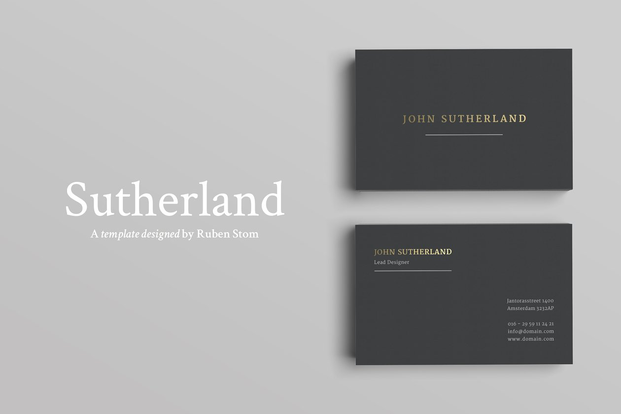 Business Card Templates | Creative Market Pro