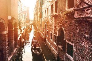 Beautiful Old Street of Venice