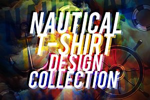 NAUTICAL T-SHIRT DESIGN COLLECTION