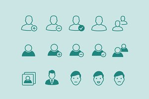 15 User Profile Icons