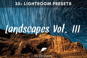 Landscape Lightroom Presets Vol. III