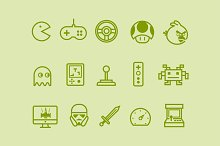 by  in Video Game Icons