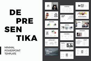 DE Presentation PowerPoint Template