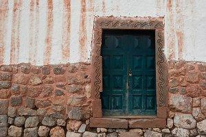 Old ancient grunge door
