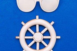 Sea vibes. Art design fashion