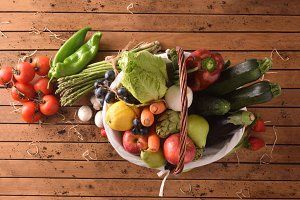 Fruits and vegetables general top