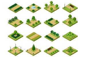 SVG files city park vector