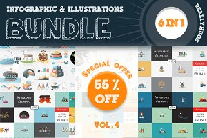 Infographic & Illustrations Bundle