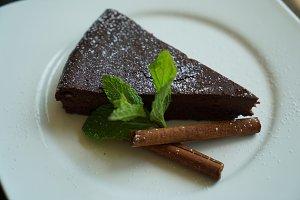 Velvet Chocolate Cake Dessert