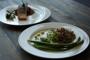 Salmon and Quinoa Gourmet Entrées