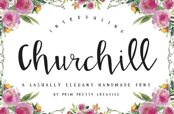 Churchill Script