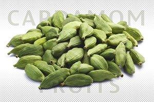 Pile of Cardamom